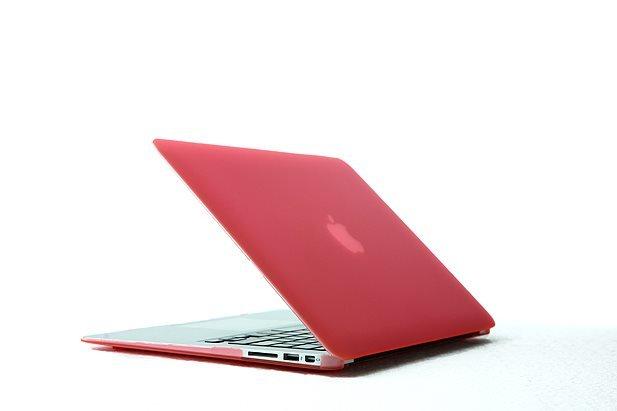 "Ultra Slim Anti Glare Hard Case for MacBook Air 13.3"" (Pink) & Free Keyboard Cover(Random)-288A"