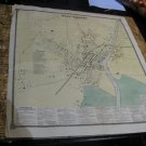 1867 Map Port Chester New York F.W. Beers Hand-Colored Engraving