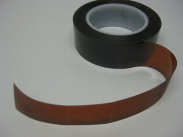 """Kapton Tape (Polyimide) Heat Tape 1 1/2"""" X 36 Yds, 3D Printer Extra Thick"""