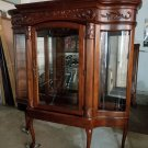 American Drew Lighted China Cabinet Hutch