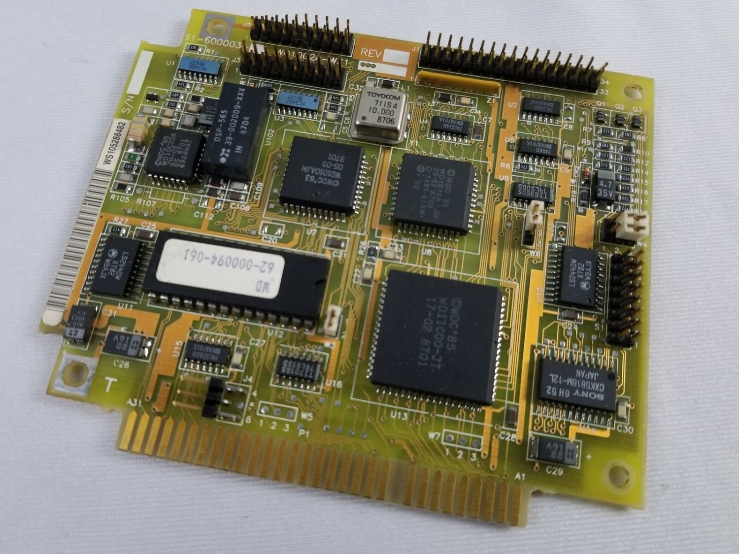 Vintage COMPEQ WD1002A-WX1 Controller Card