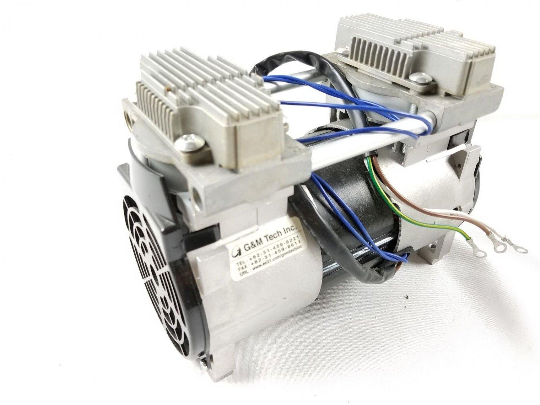 G&M Tech 120RAD OIL-Less Rocking Piston Type Vacuum Pump Pond Aerator