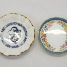 2 Vintage Fine Bone China Trinket Candy Dishes Made in England