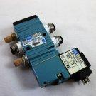 MAC Valve 411A B0A DM DJB 1KHJ, Solenoid DMD DJBJ 1KJ, 120 PSI