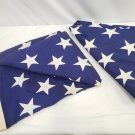 2 Cloth American Flags