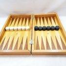 Vintage Handmade Backgammon Game Set