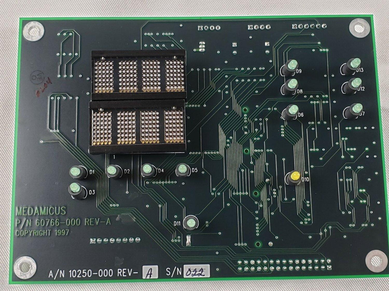 MedAmicus Lumax 60766-000 Cystometry Control Display Board