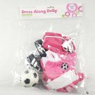 Dress Along Dolly Soccer Outfit