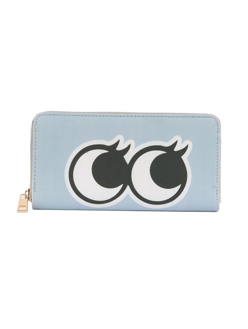 SIDE EYES CLUTCH WALLET