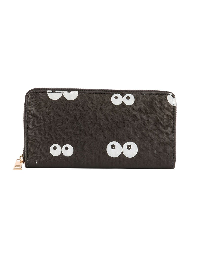 EYES IN THE DARK CLUTCH WALLET