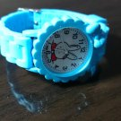 Kid Child Children boys Girls 3D Wrist Watch White Rabbit Cartoon Birthday Gift