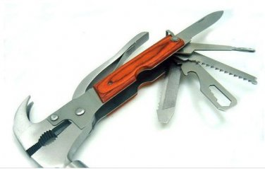 Multifunction Outdoor Camping tool Knife Wrench Hammer Saw Plier Screwdriver etc