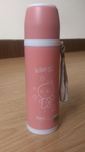 Edish Stainless Steel Vacuum Flask Tea Coffee Water Bottle Thermos 17oz Cartoon