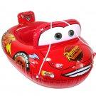 Baby Kids Toddler Lightning McQueen Swim Pool Boat Ring Raft Float Tube Seat Aid