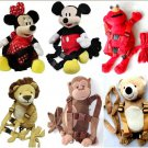 Mickey Minnie Backpack Baby Kid Toddler Safety Harness Animal Walking Strap Rein