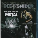 Dee Snider (Twisted Sister) - For The Love Of Metal Live - Blu-Ray