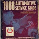 Esso 1966 Humble Oil Co. Automotive Service Guide. American & Imported Cars.