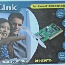 NEW DLINK DFE-530TX+ PCI 10 100 Ethernet Network Interface Card NIC Low Profile