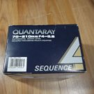 Quantaray 70-210mm f4-5.6 Sequence 4 Lens (box only) for Pentax 25-166-2565