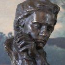 Ludwig van Beethoven Bust Bronze Sculpture