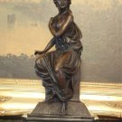 Mythological Greek Goddess Athena Bronze Sculpture