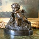 Cherub Angel Bronze Sculpture