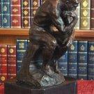 "Rodin's ""The Thinker"" Bronze Sculpture"