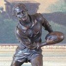 Rugby Football Athlete Player Bronze Sculpture
