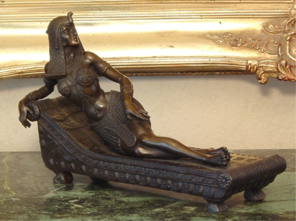 Egyptian Goddess Bronze Sculpture