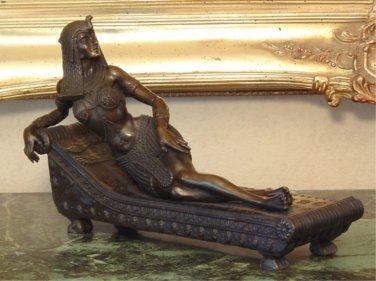Egyptian Goddess Bronze Sculpture