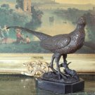 Pheasant Bronze Sculpture