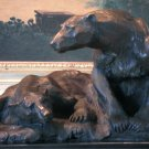 Large Arctic Pair of Polar Bears Bronze Sculpture
