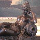 Meditrina Roman Goddess of Wine Bronze Sculpture