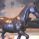 Handsome Equestrian Horse Bronze Sculpture