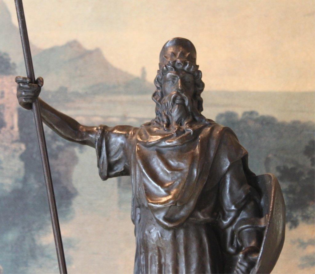Roman Emperor Commodus Bronze Sculpture