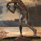 Nude Male Athlete Bronze Sculpture
