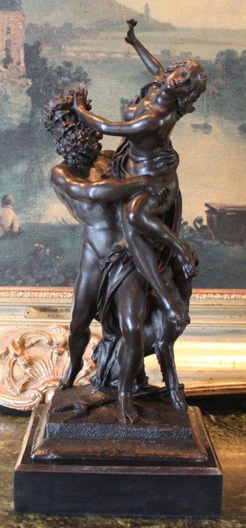 The Abduction of Proserpina Bronze Sculpture
