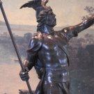 Viking Norse Warrior Bronze Sculpture