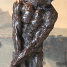 Erotic Standing Nude Male Bronze Sculpture