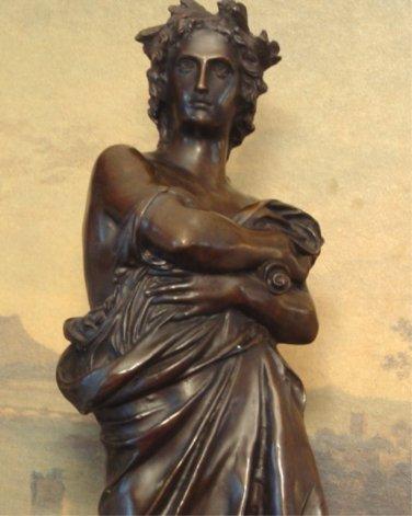 Large Caesar Bronze Sculpture