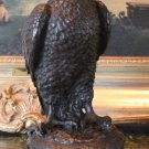 Wildlife Falcon Bird of Prey Bronze Sculpture
