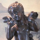 Cherub Girl Bronze Sculpture