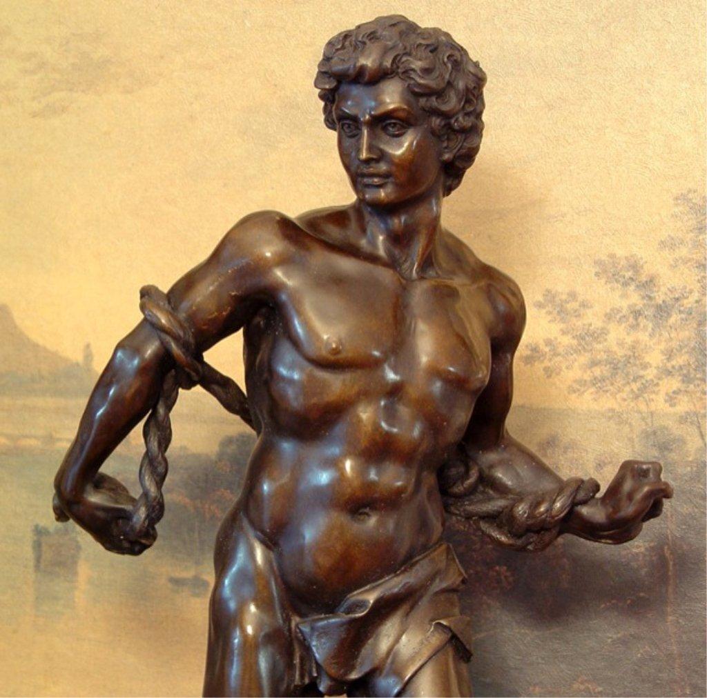 Hercules Son of Zeus Bronze Sculpture