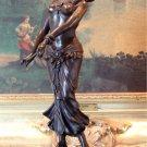 Bollywood Belly Dancer Bronze Sculpture