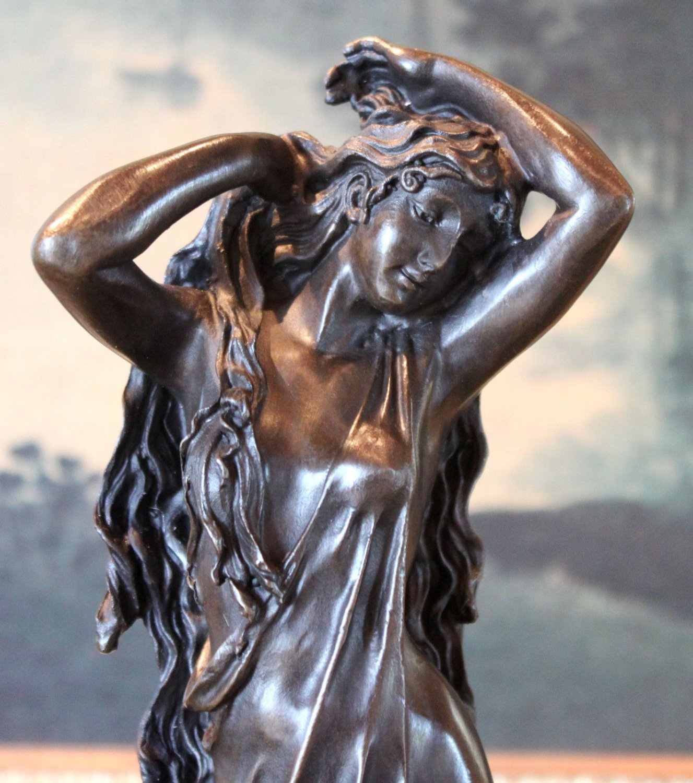 Mythological Goddess Bronze Sculpture