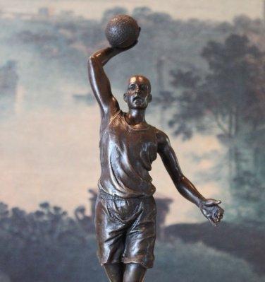 NBA Basketball Player Bronze Sculpture