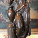 Large Minerva Roman Goddess of Wisdom Bronze Sculpture