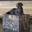 Mastiff Dog Bronze Sculpture