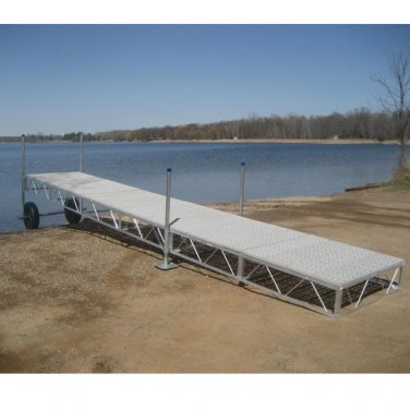 24 FOOT ROLL IN BOAT DOCK WITH POLY DECKING