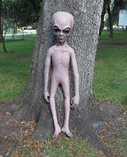 Life Size Hand Made Foam Roswell Alien Halloween man cave prop